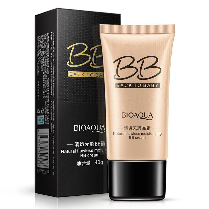 BIOAQUA Crème Hydratante BB Naturelle Flawless Naturelle Marron 40G