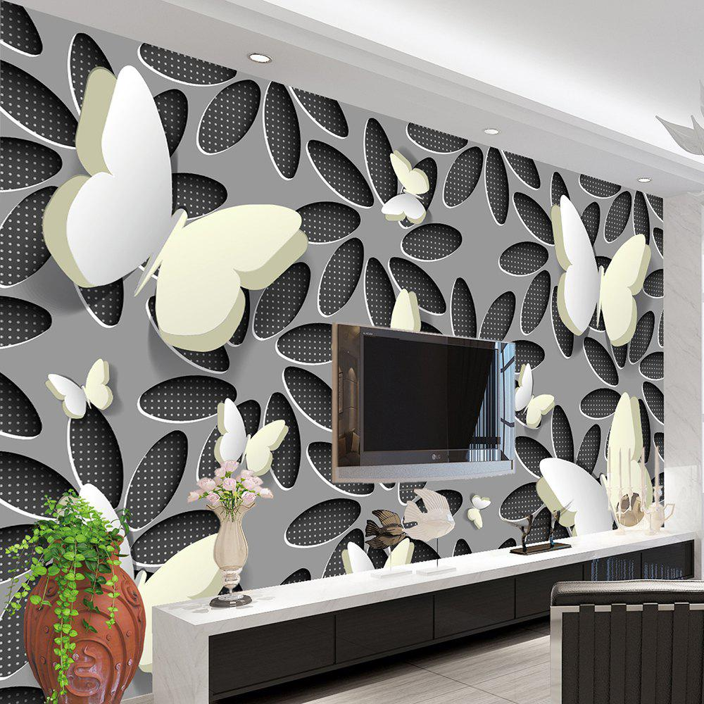 Fashion Art Deco Pattern 3D Home Decoration Vintage Modern Wall Covering  Canvas Material
