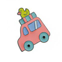 Small Lovely Colorful Enamel Car Brooch -