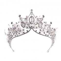 La mariée Grand Crystal Princess Hairband -