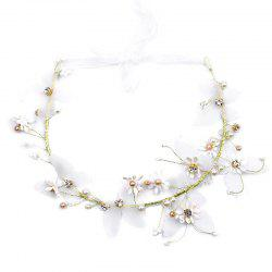 Bride Accessory Butterfly Flower Headband -