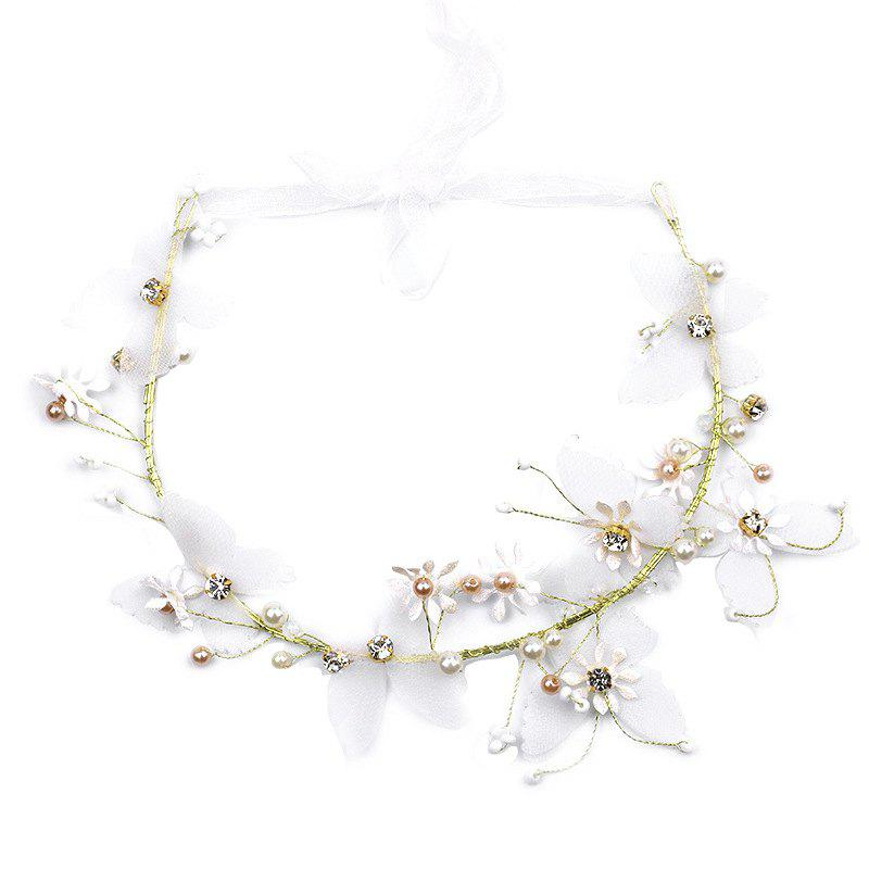 Best Bride Accessory Butterfly Flower Headband