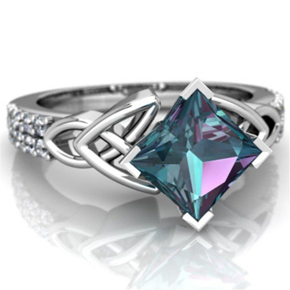 Trendy Exquisite Jewelry Princess Mystic Rainbow Ring