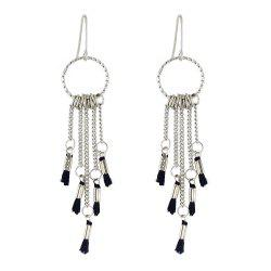 Tassel Long Dangle Hanging Earrings для женщин -