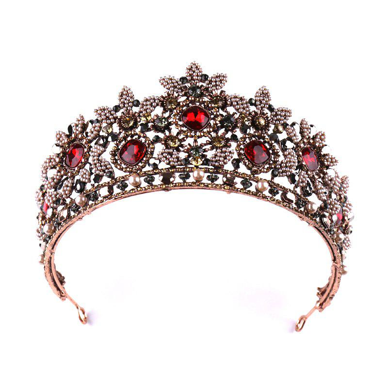Hot Bride Accessory Vintage Red Crown