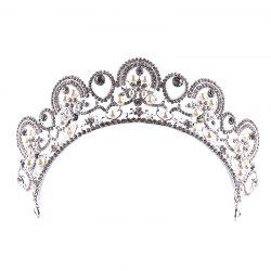 Bride Accessory Princess Crystal Crown -