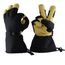 OZERO -40 Deg.F Cold Proof Winter Skiing Glove for Men and Women -