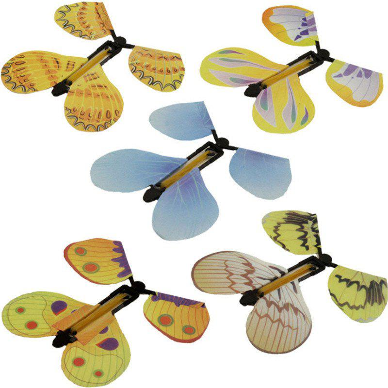 Best Can Fly Butterfly New Special Children Magic Prop Toy 5PCS