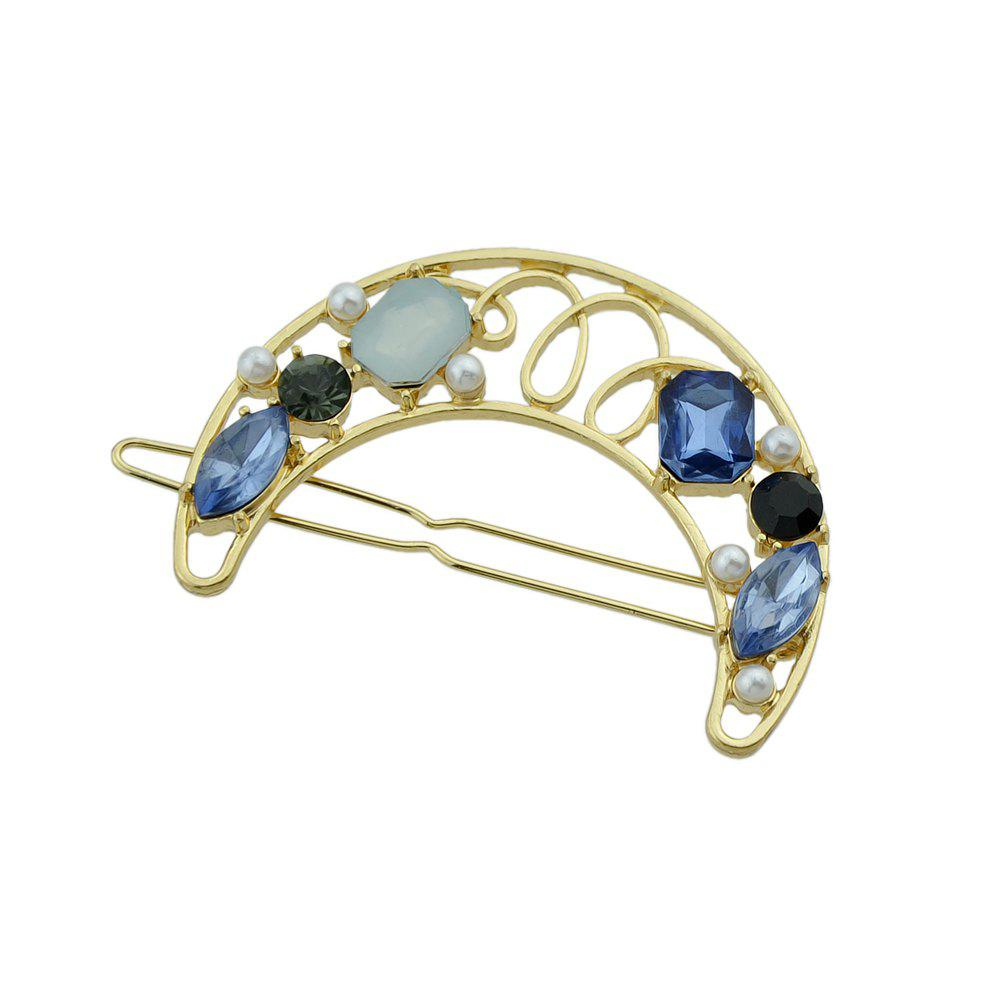 Store Cute Lovely Stone with Rhinestone Geometry Shape Hairband