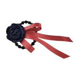 Elastic Colorful Ribbon Flower Bowknot Headband -