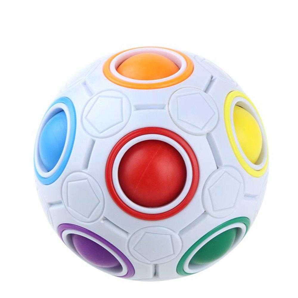 Discount Magic Rainbow Ball Pressing Colorful Cave Decompression Cube
