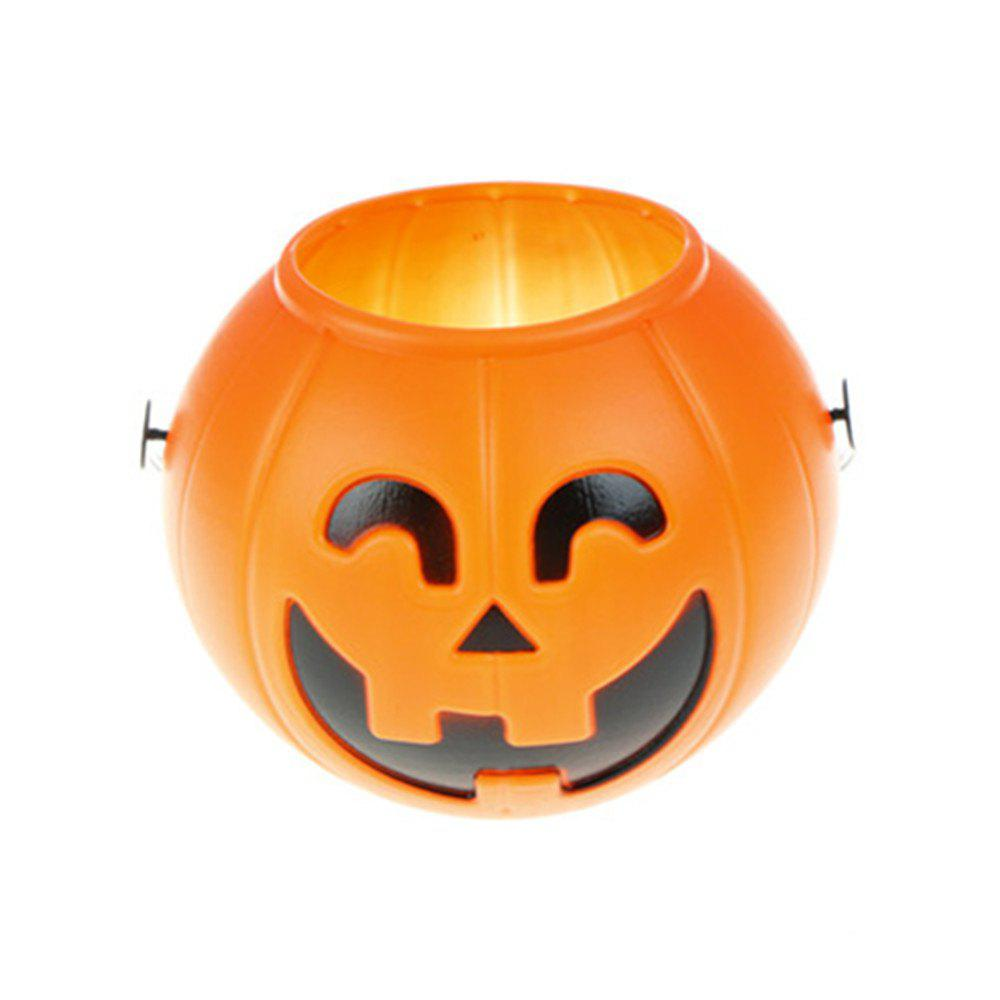 2018 dazzling toys pumpkin candy holder trick-or-treat halloween
