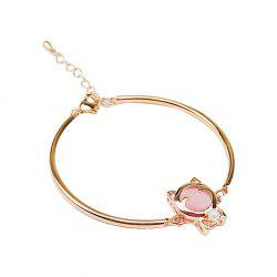 Fashionable Personality Cat Cat Eye Stone Bracelet -