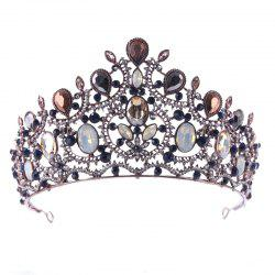 Bride Accessory Ancient Color Baroque Crown -
