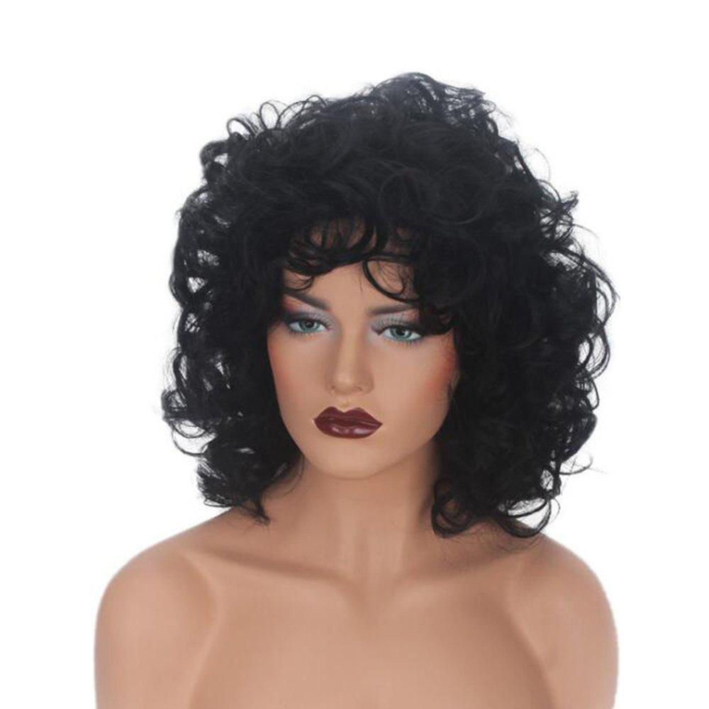 Unique Women Fashion Synthetic Wig Curly Natural Hair Accessory