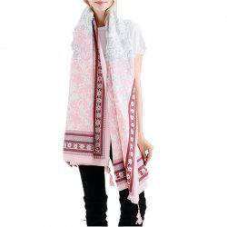 Fashion Warm Tassel Cotton Linen Scarf Shawl -