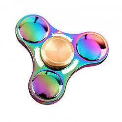 New Colorful Fingertip Gyro Zinc Alloy Decompression Toy -