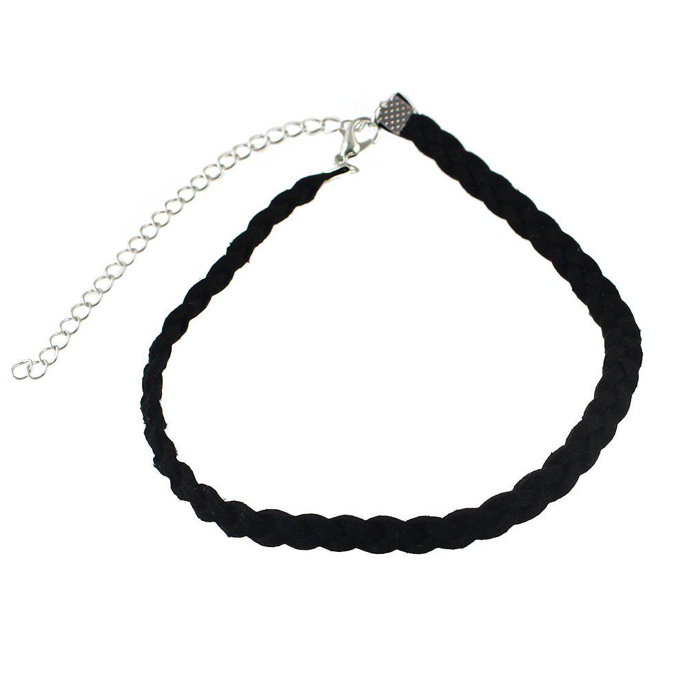 Simple Braided Rope Short Necklaces for Women