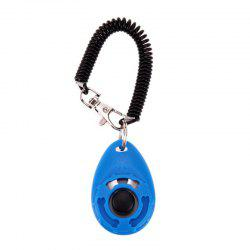 Pet Trainer Training Dog Clicker Adjustable Sound Key Chain and Wrist -