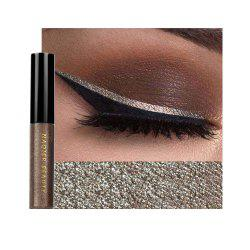 NAQIER Shiny Eyeliner Pencil White Liquid Eyeliner Gel Waterproof -