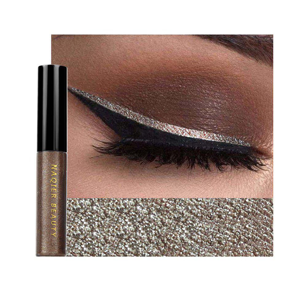 Shop NAQIER Shiny Eyeliner Pencil White Liquid Eyeliner Gel Waterproof