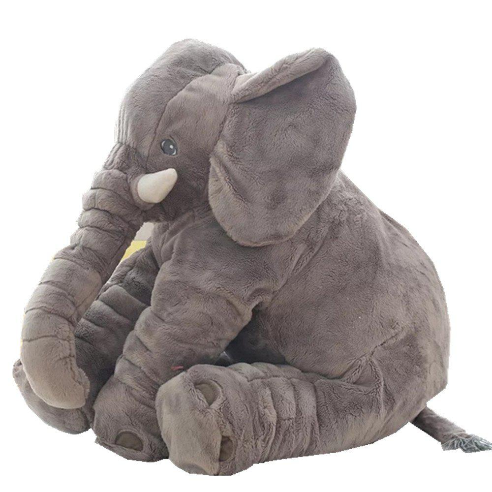 New Infant Soft Appease Elephant Playmate Calm Doll Baby Toy