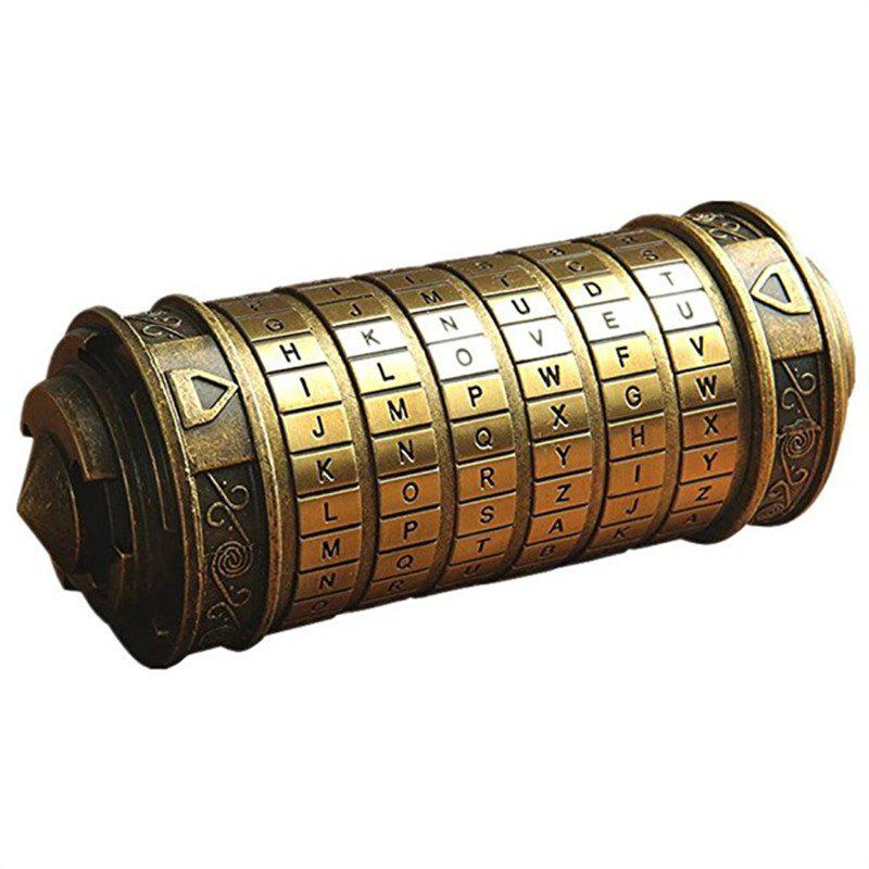 New Da Vinci Code Mini Cryptex Valentine's Day Interesting Creative Romantic Toy