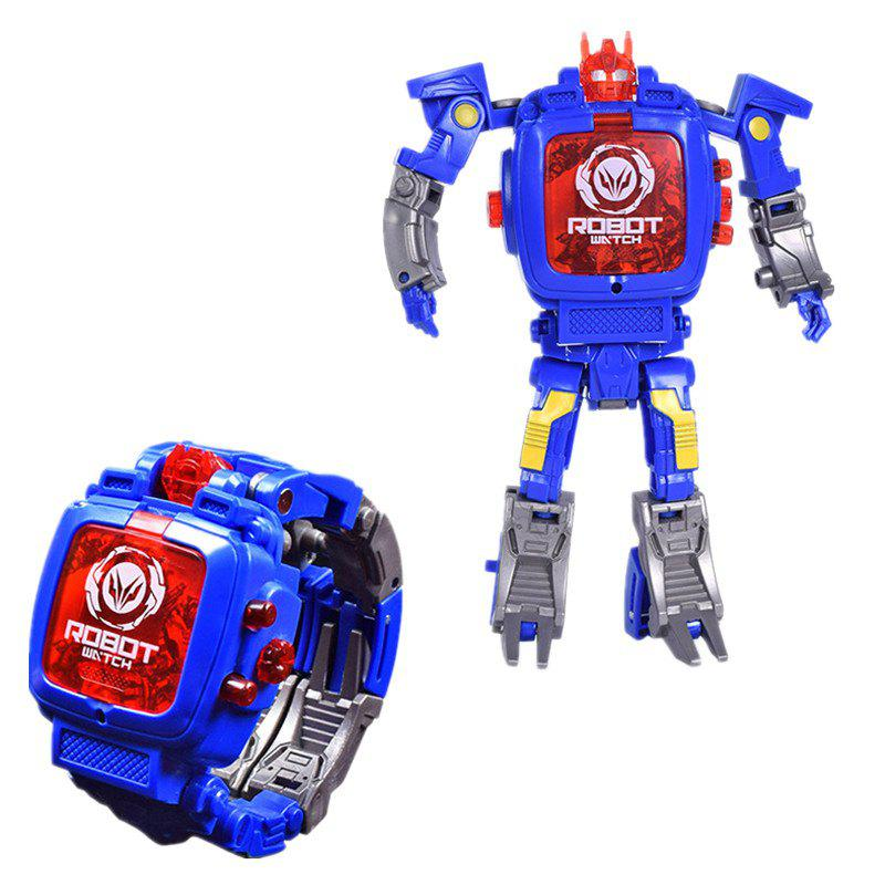 Shop Deformation Electronic Sports Cartoon Watches Robot Transformation Toy