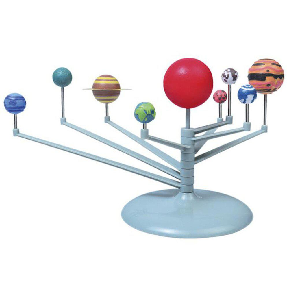 New Educational Assembles Nine Planets Science Experiment Children Toy Sets