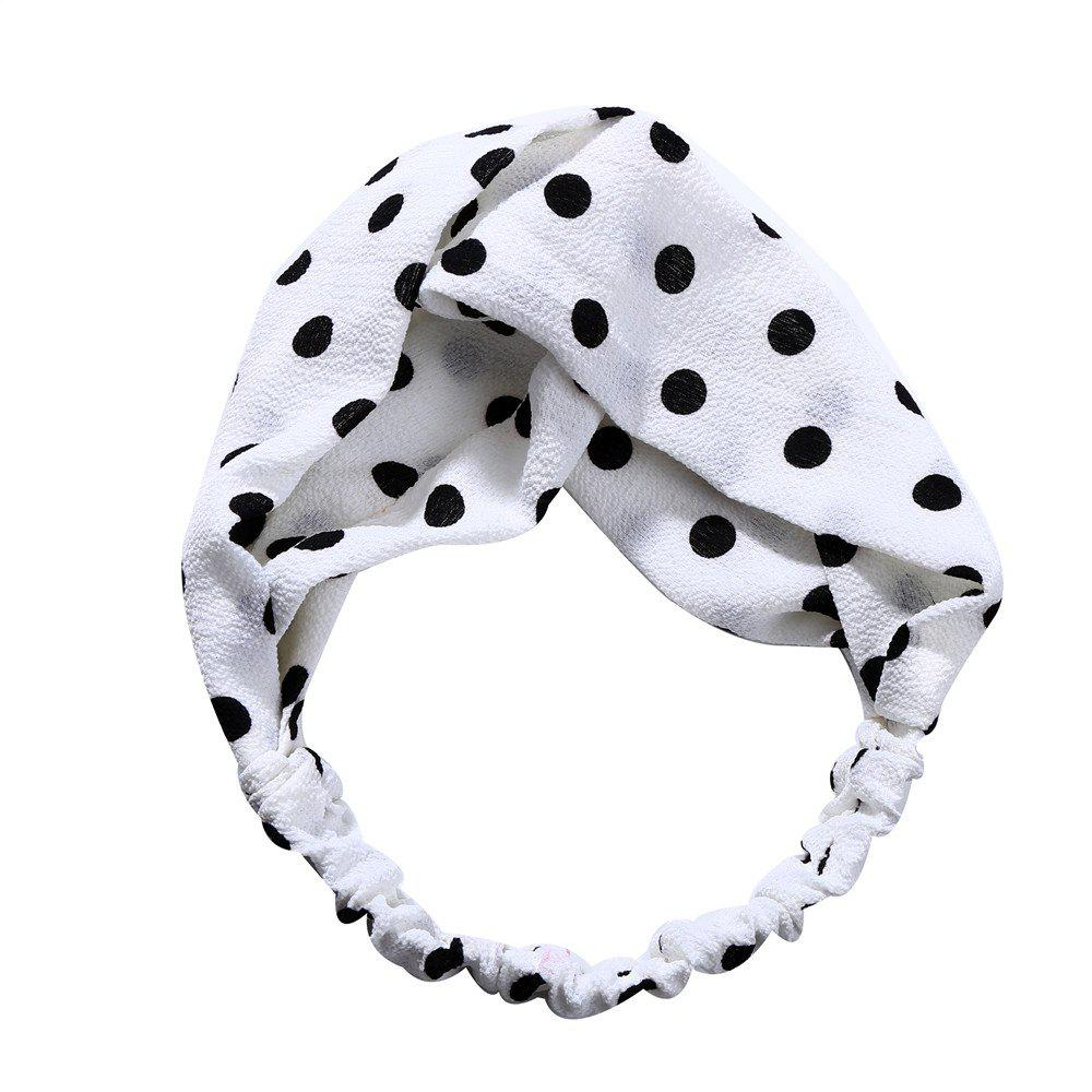 Store Sweet and Lovely Solid Color White Hairband