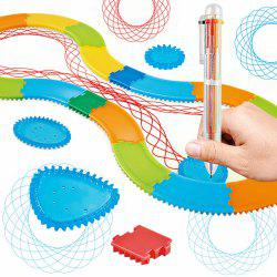 Creative Art Track Painting Ruler Set Children Educational Toy -