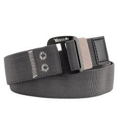 ENNIU Alloy Buckle Thick Canvas Belt -
