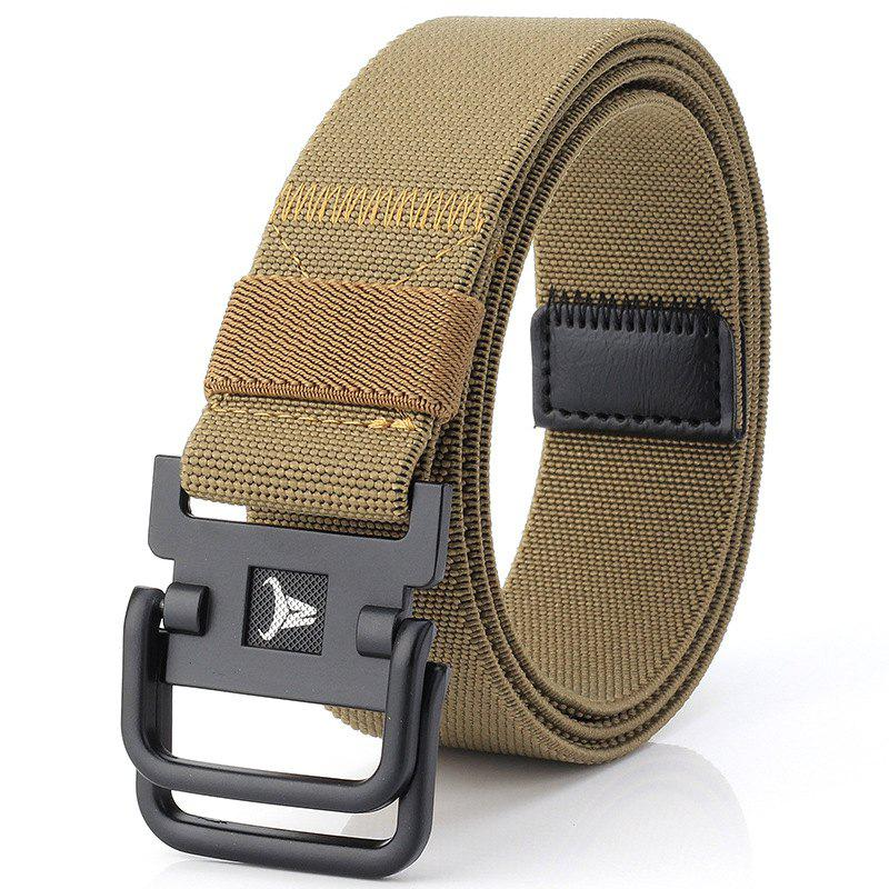 Affordable ENNIU Double Buckle Stretch Durable Weaving Nylon Elastic Belt