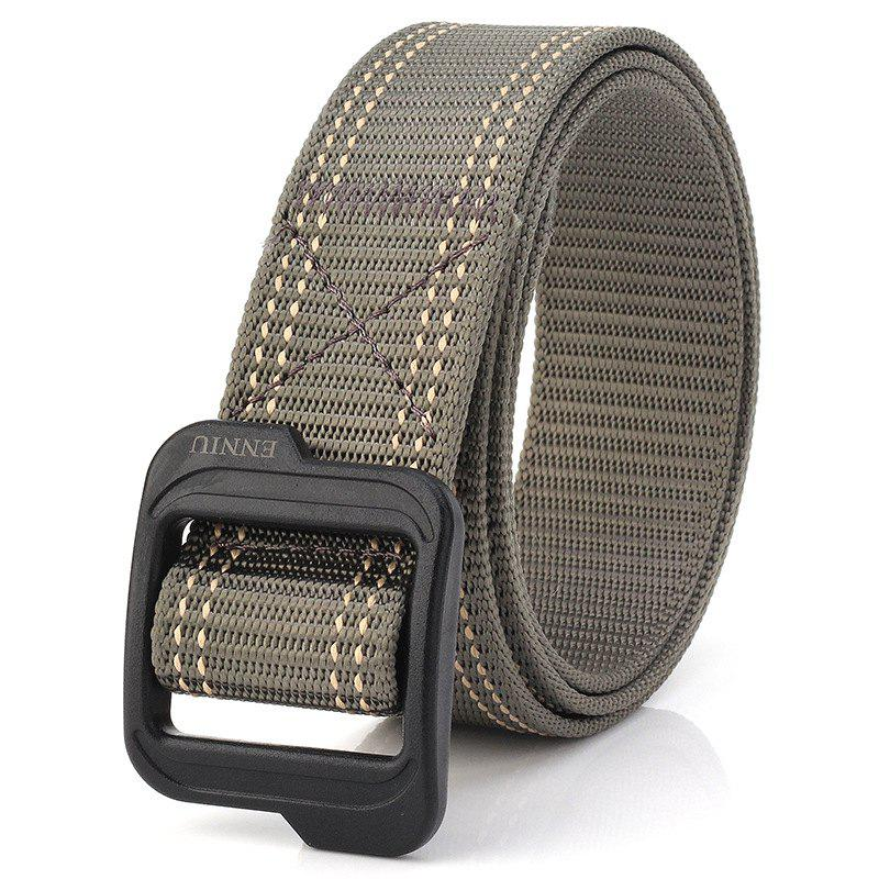 Latest Enniu Plastic Buckle Quick-Drying Durable Weaving Tactical Belt