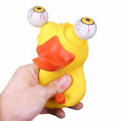 Novelty Duck Squeeze Eye Doll Stress Reliever Funny Christmas Gift -