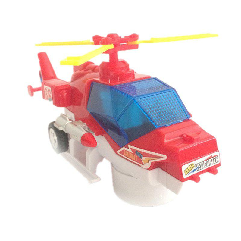 Unique Electric Universal Flashing Music Helicopter