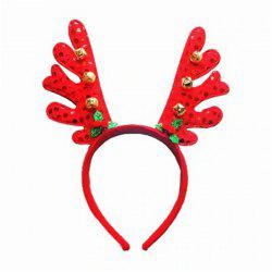 Fashion Deer Bell Head Band Christmas Decorations 1PC -