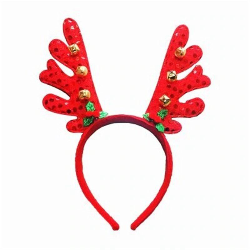 Discount Fashion Deer Bell Head Band Christmas Decorations 1PC