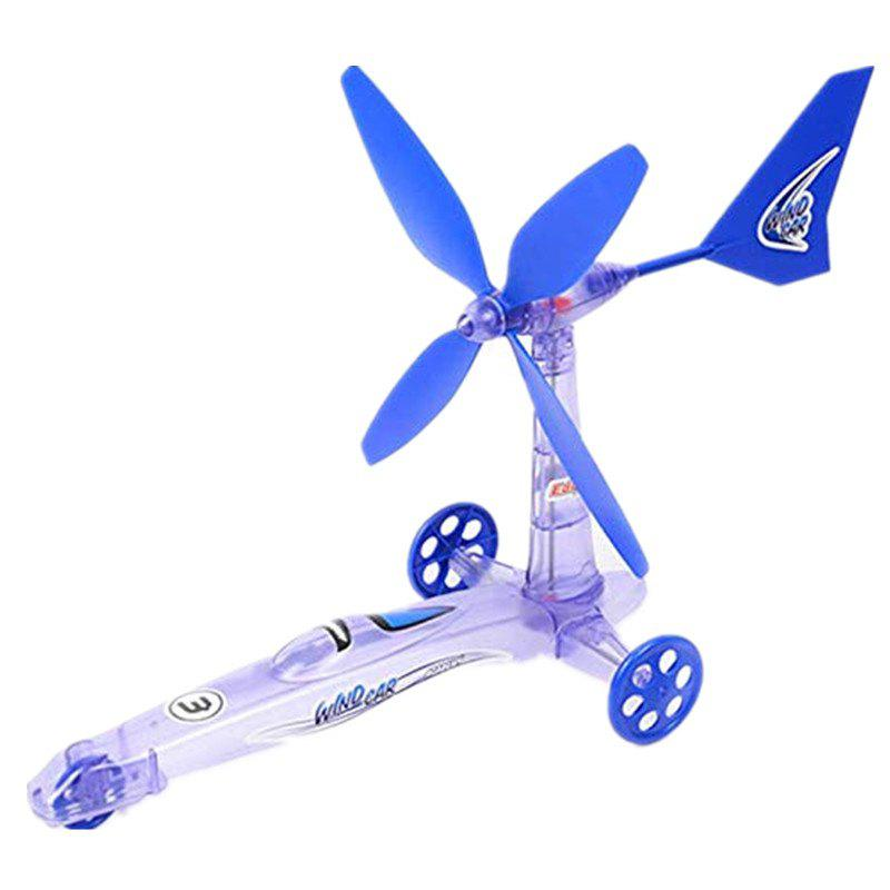 Wind Power Windmills Science Technology Enfants Puzzle DIY Jouet