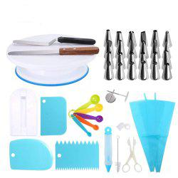 41pcs Cake Decorating Tools All-In-One Baking Supplies Piping Set -