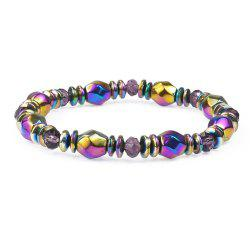 Multicolor Magnetic Beads Hematite Stone for Therapy Health Care Men -