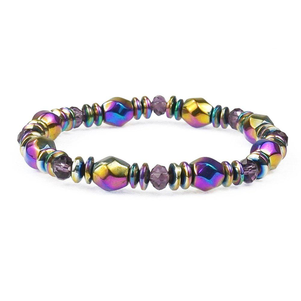 Latest Multicolor Magnetic Beads Hematite Stone for Therapy Health Care Men