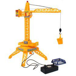1:64 Electric Remote Control Tower Crane Engineering Educational Toys -
