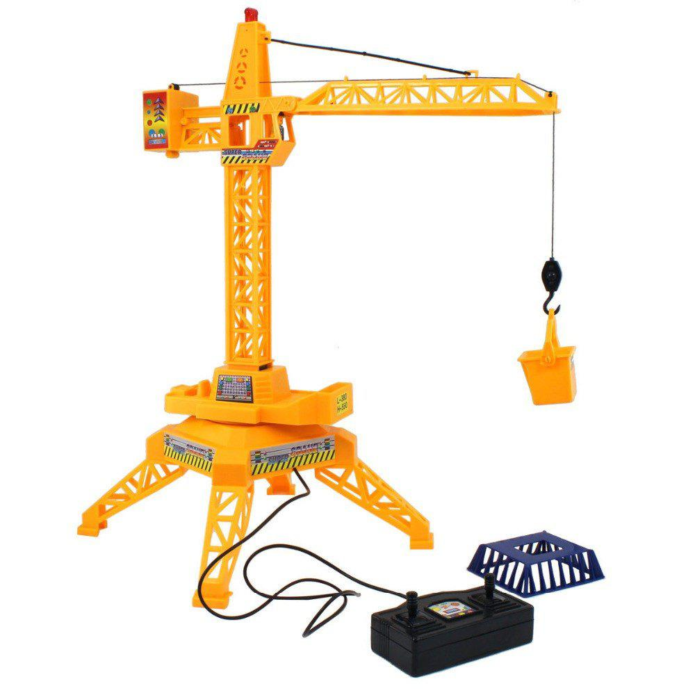 Sale 1:64 Electric Remote Control Tower Crane Engineering Educational Toys