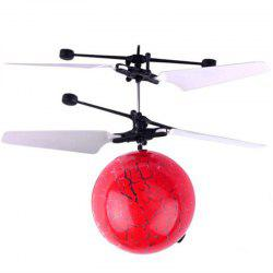 Mini LED Flying Ball Light Crystal Induction Aircraft Jouets Hélicoptère -