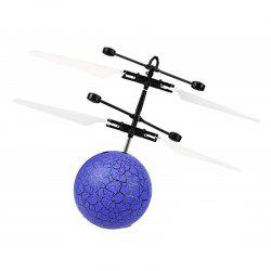 Mini LED Flying Ball Light Crystal Induction Aircraft Toys Helicopter -
