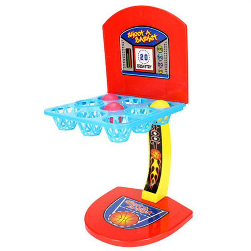 Trendy Desktop Ejection Basketball Mini Finger Game