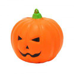 Jumbo Squishy Smiling Face Halloween Pumpkins Charm -