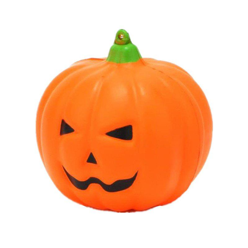 Jumbo Squishy Smiling Face Halloween Pumpkins Charm