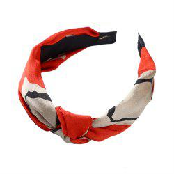 Cloth Art Knitwear Yoga Face Geometry Hairband -